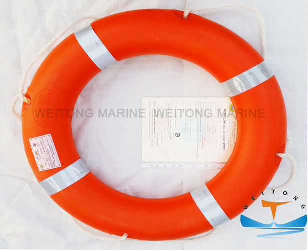 Life Ring Buoys Marine Safety Equipment With Solas Normal Gray Reflective Tape
