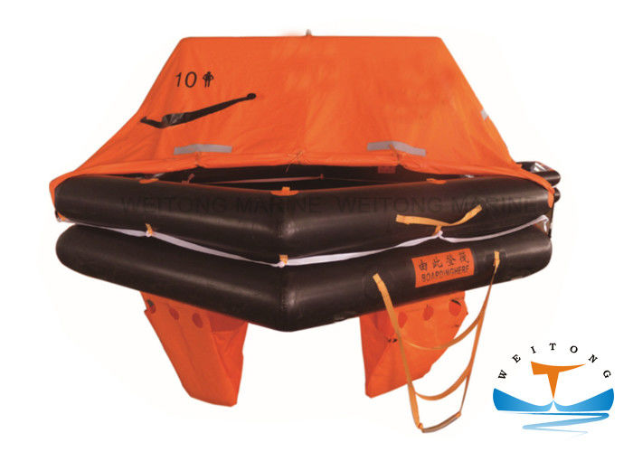 Fishing Boat Throw Overboard Liferaft Water Resistant With ZY Certificate