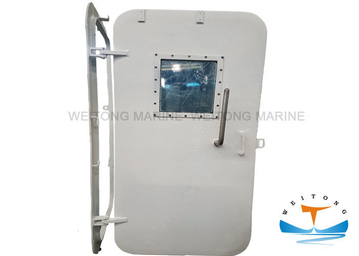 Fire - Proof Steel Marine Watertight Doors For Ship With Singlle Handle